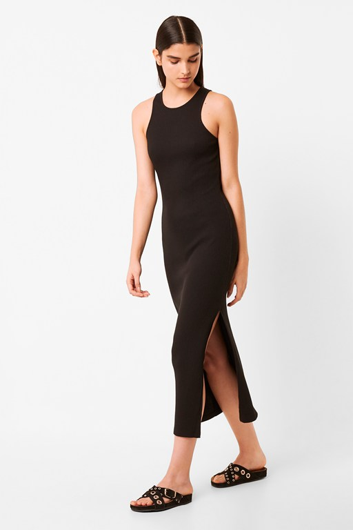 timmy rib jersey maxi dress