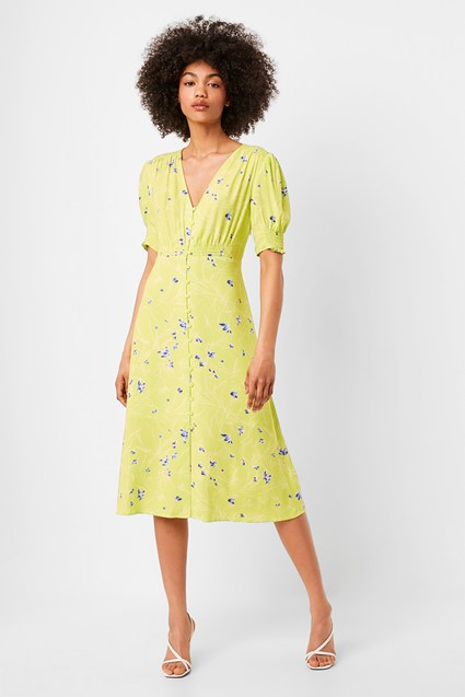 Ambar Drape Maxi Tea Dress