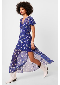 Jasmine Crinkle Midi Tea Dress