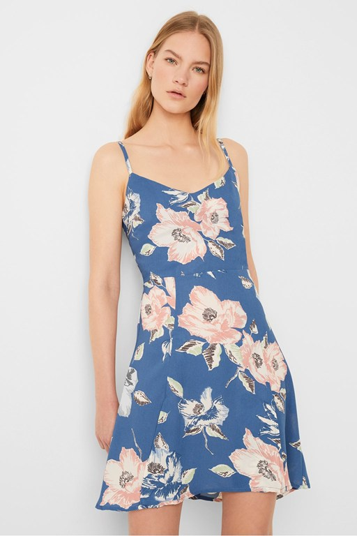 cari crepe cami dress