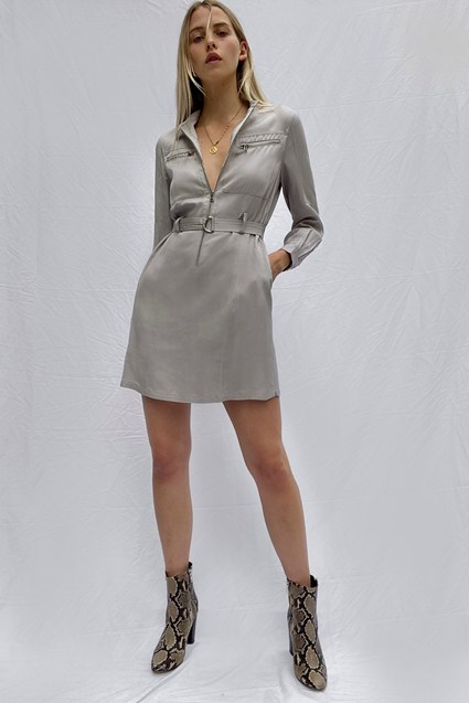 Sinni Enzo Lyocell Biker Dress