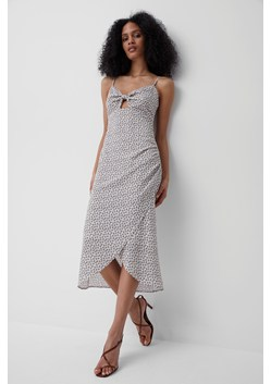Aura Ditsy Verona Tie Midi Dress