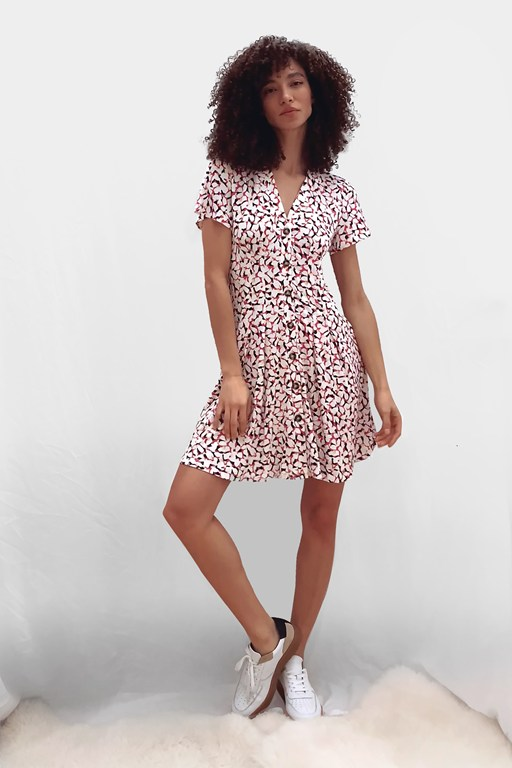pami ekeze meadow jersey dress
