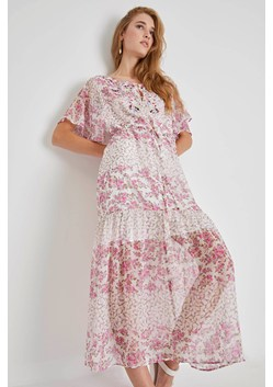 Ekeze River Daisy Crinkle Dress