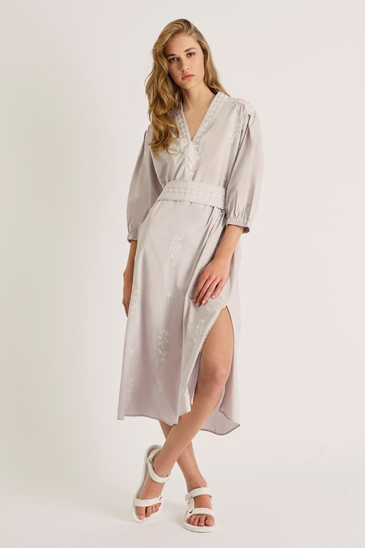 fikari embroidered oversized dress