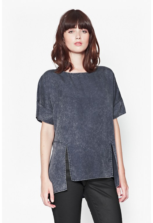 Industrial Drape Top