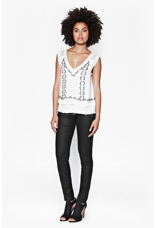 La Boheme Embellished Top