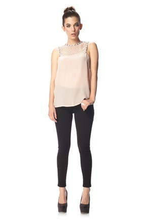 Winter Gems Sleeveless Top