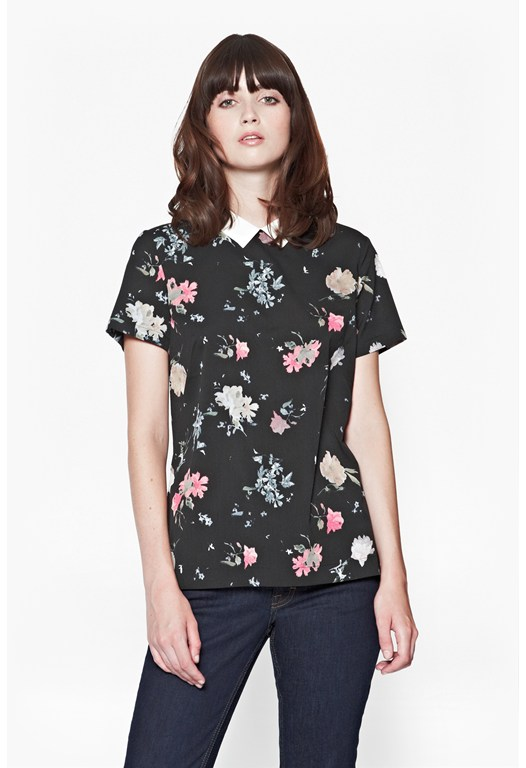 Nightfall Dotty Dot Floral Shirt