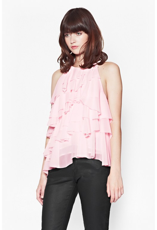 French Frou Frou Top