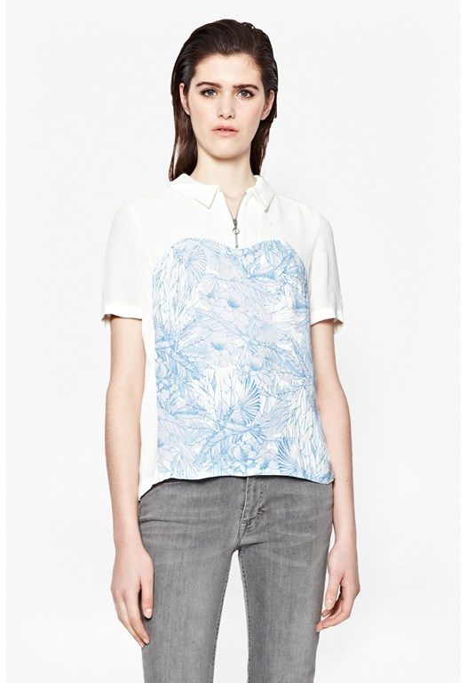 Flight Of Fancy Floral Shirt