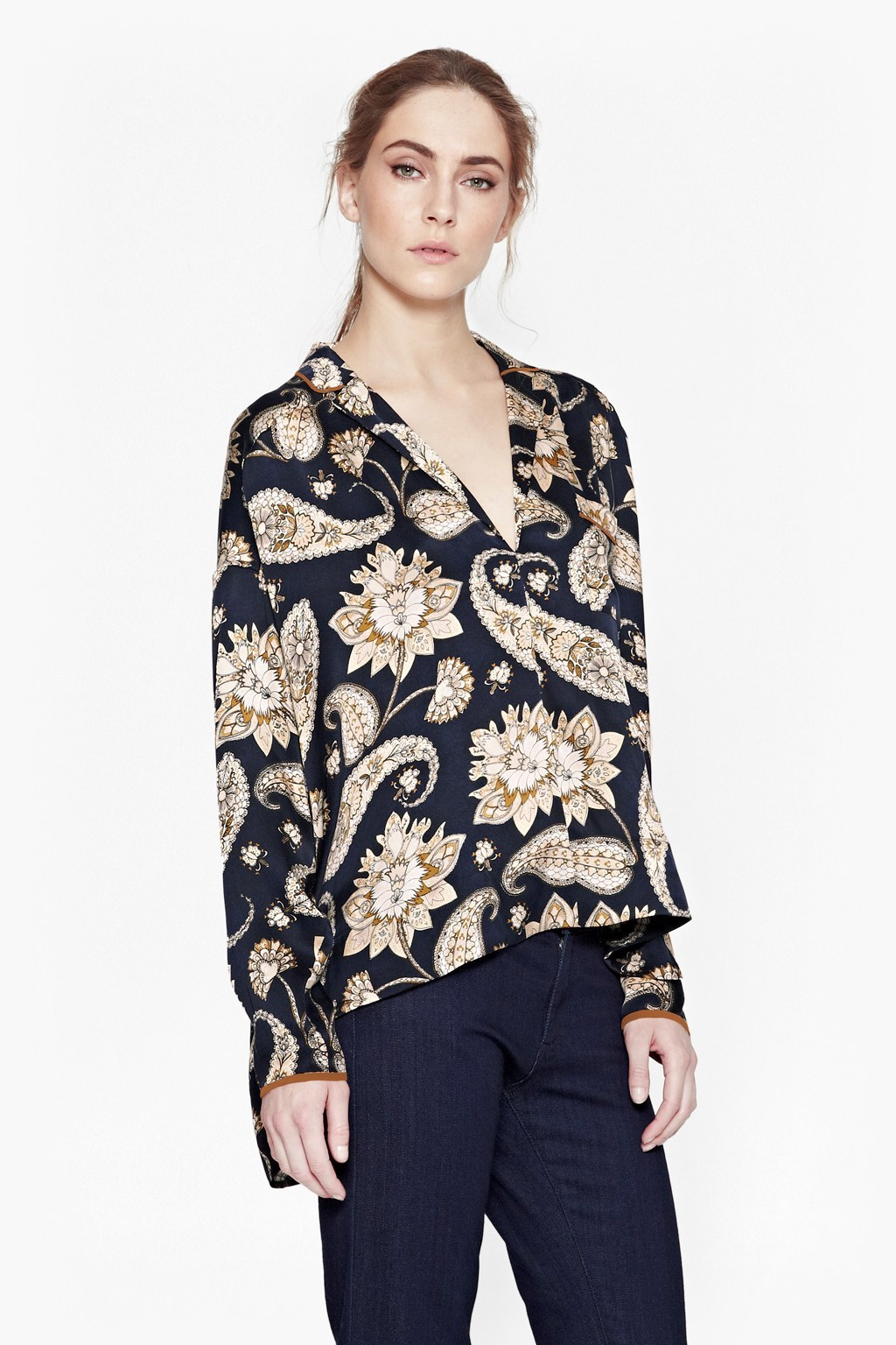 Sundown Silk Shirt