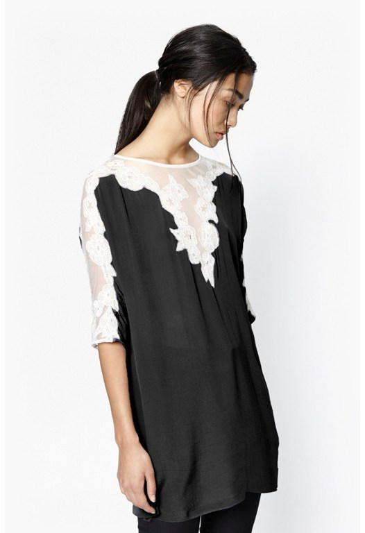 Isla Embroidered Tunic