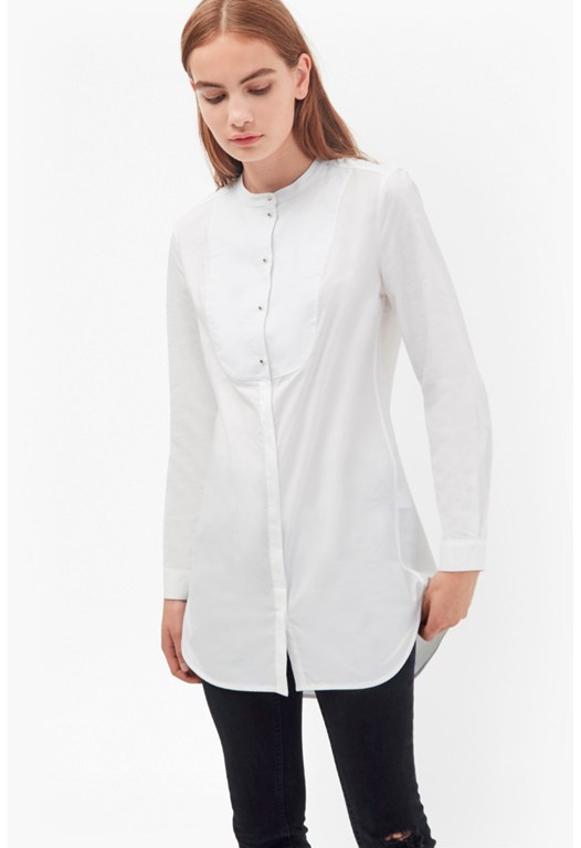 Southside Cotton Bib Shirt