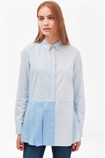 Looks Great With Serge Stripe Pleat Shirt