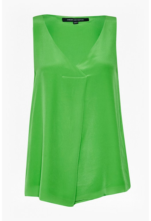 Sunshine Silk Sleeveless Top