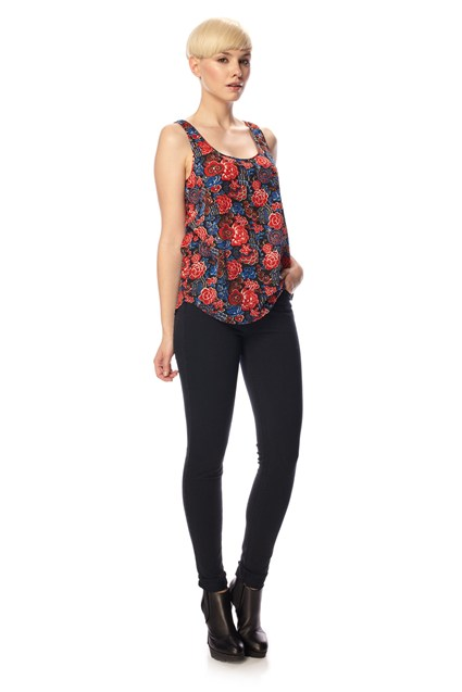 Issy Floral Print Tank Top