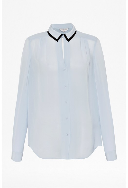 Lustre Silk Shirt