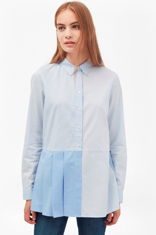 Complete the Look Serge Stripe Pleat Shirt
