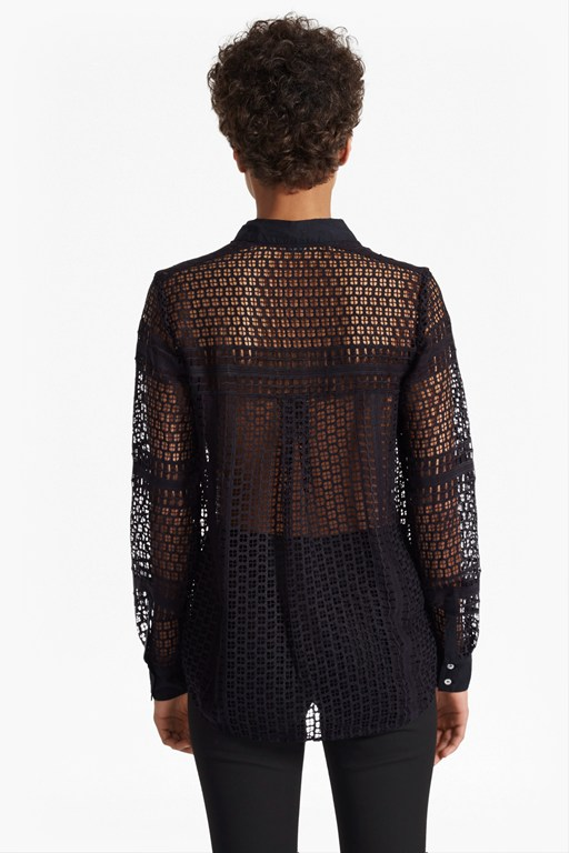 Complete the Look Summer Cage Lace Shirt
