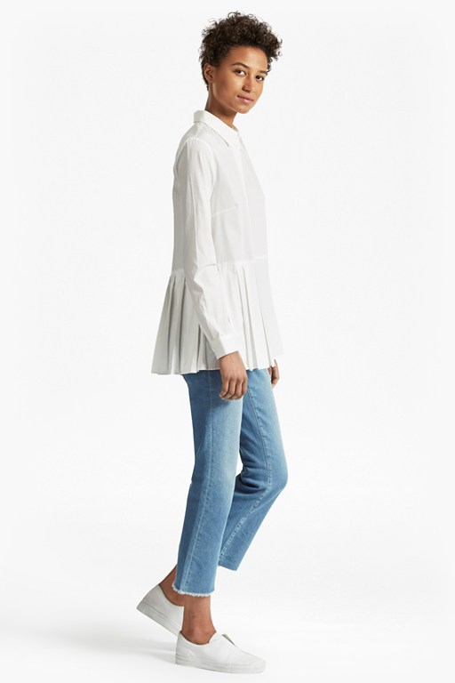 Complete the Look Serge Belle Cotton Pleat Shirt
