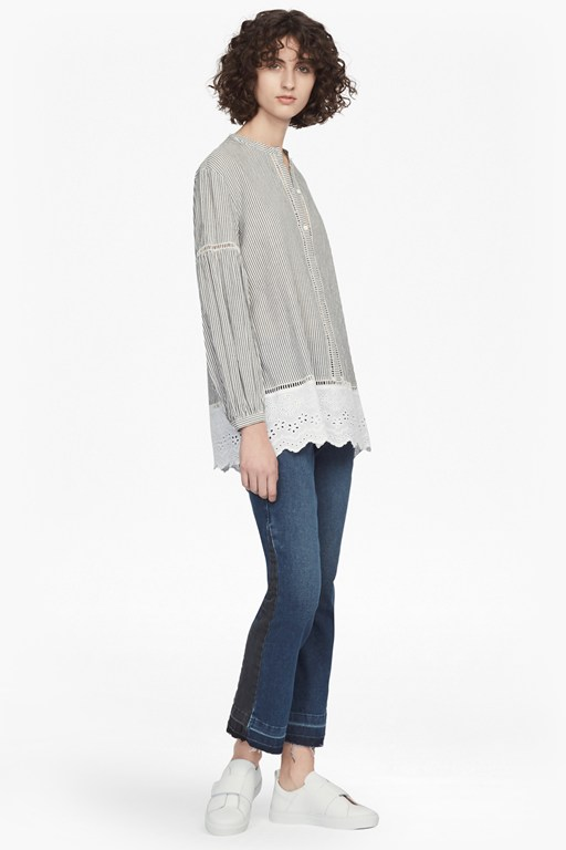 clea blouson sleeve top