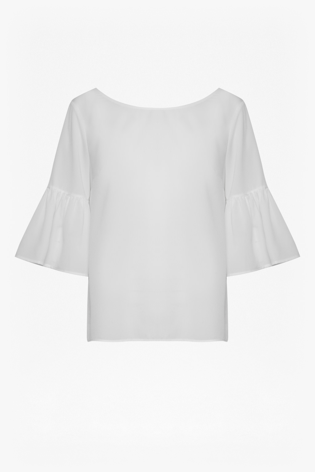 French Connection Classic Crepe Bell Sleeve Strap Back Top Clearance For Nice vpTSS