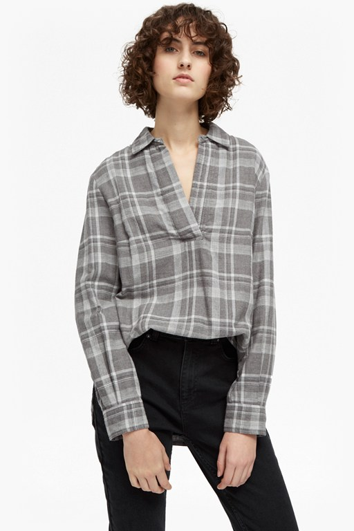 denise double check pull over top
