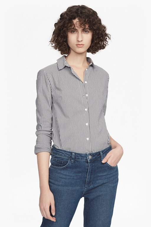 Complete the Look Eastside Wide Stripe Shirt