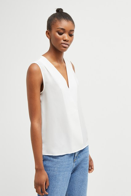 Crepe Light Crossover Top