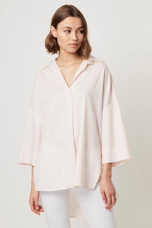 julienne oldenburg pop over shirt