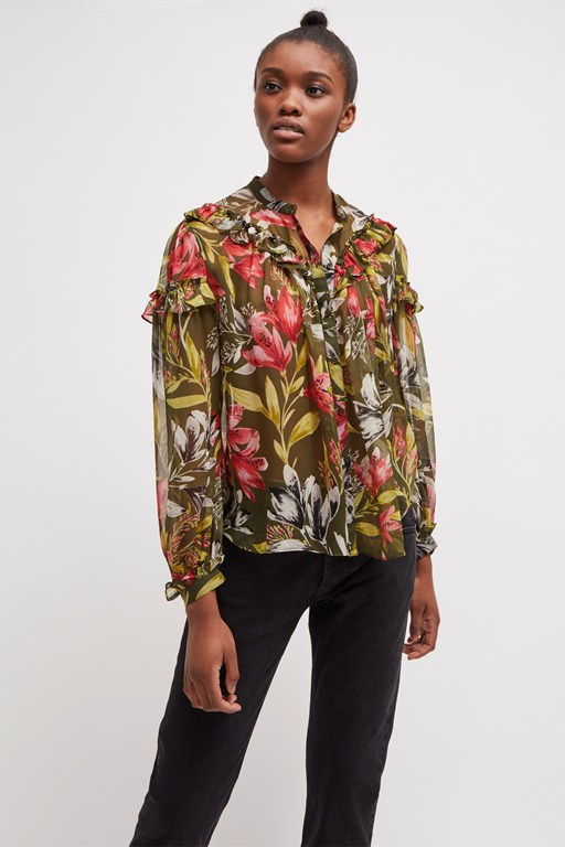 e7fb1181c44714 Women's Floral Tops | Summer Tops | French Connection USA
