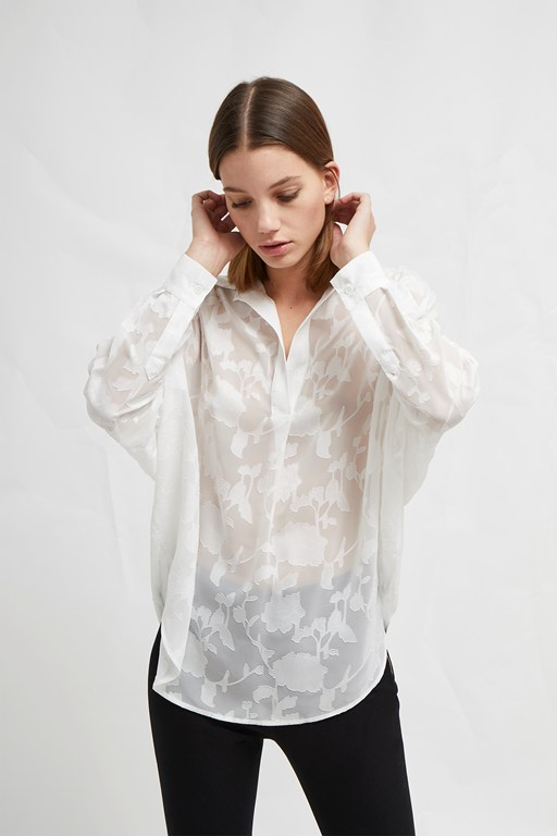 clarita fil coupe pop over shirt