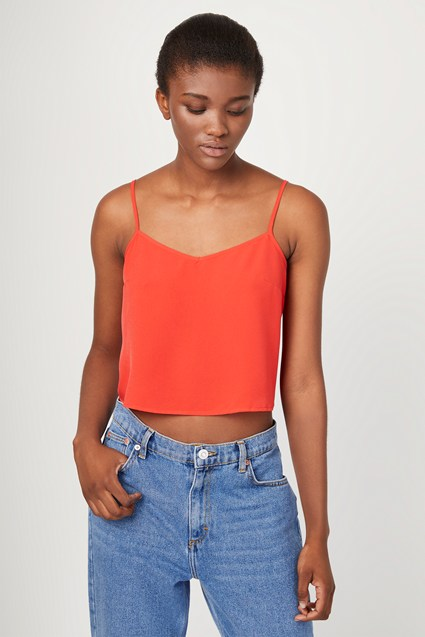 Crepe Light Strappy Cami