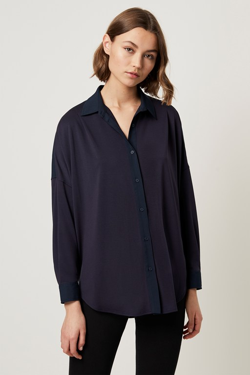 ruby crepe mix shirt
