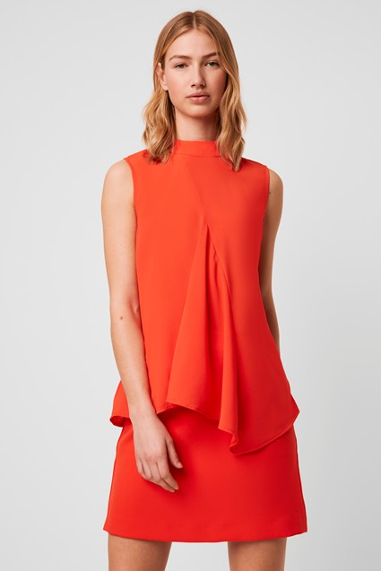 Abena Light Mock Neck Top