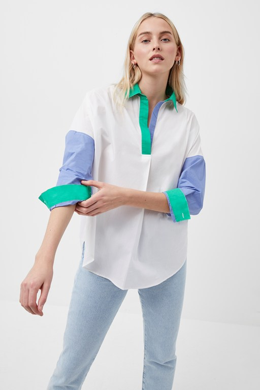 ceises rhodes color block shirt