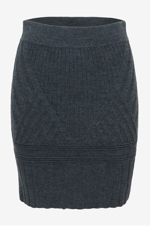 Engineered Rib Knits Skirt