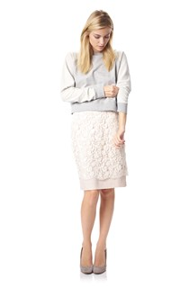 Loving Crochet Pencil Skirt