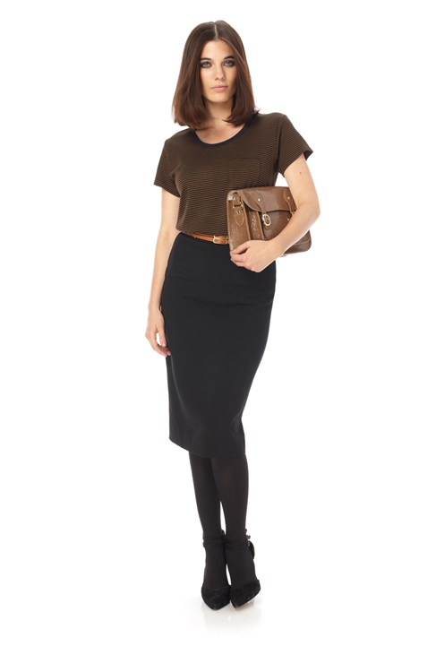 Feather Ruth Pencil Skirt