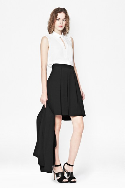 Feather Light Flared Skirt