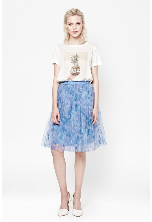 Florida Bloom Layered Skirt