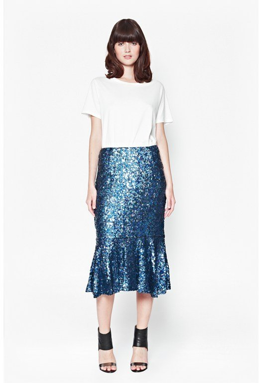 Sirius Sequins Mermaid Skirt