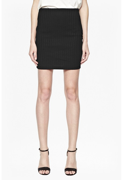 Tracks Bodycon Mini Skirt