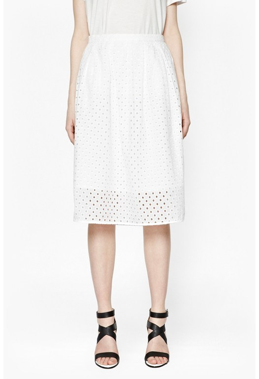 April Lace Flared Skirt