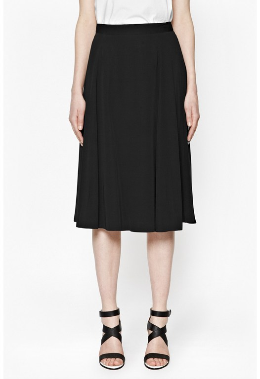 Cassie Drape Full Skirt