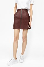 Looks Great With Atlantic Faux Leather Mini Skirt