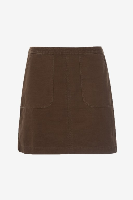 Kenyan Twill Mini Skirt