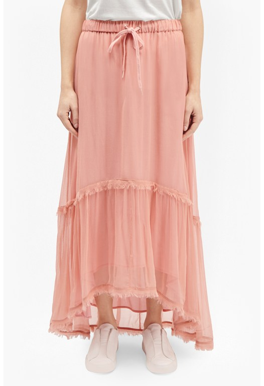 Connie Chiffon Maxi Skirt