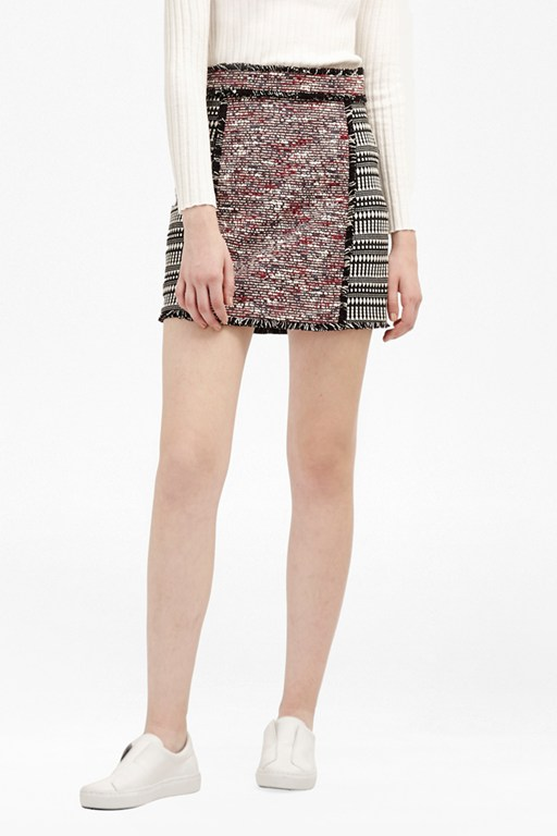Complete the Look Pixel Mix Cotton Mini Skirt